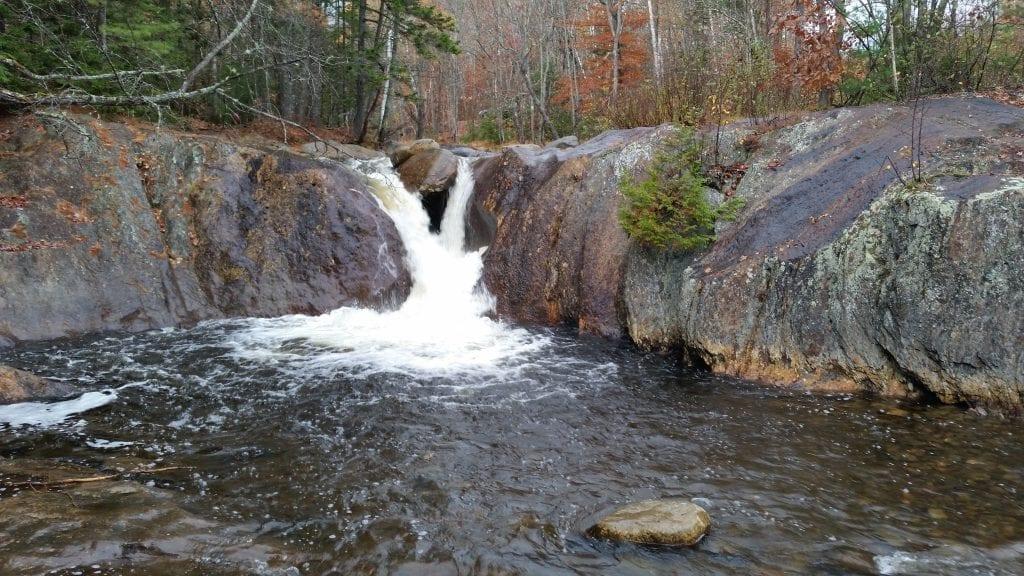 Smalls Falls upper falls.