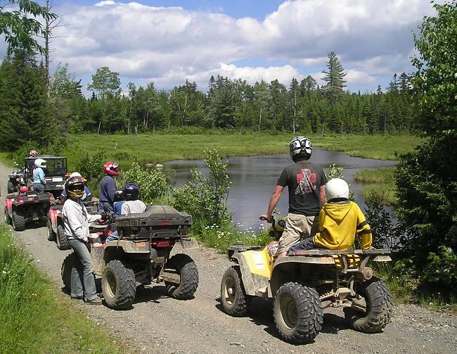 Maine Atv Dirtbike Trail Maps Untamed Mainer