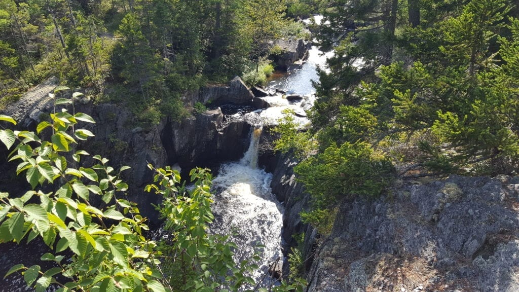 Billings Falls, Gulf Hagas.