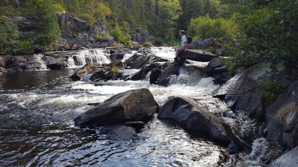 Gulf Hagas waterfalls.