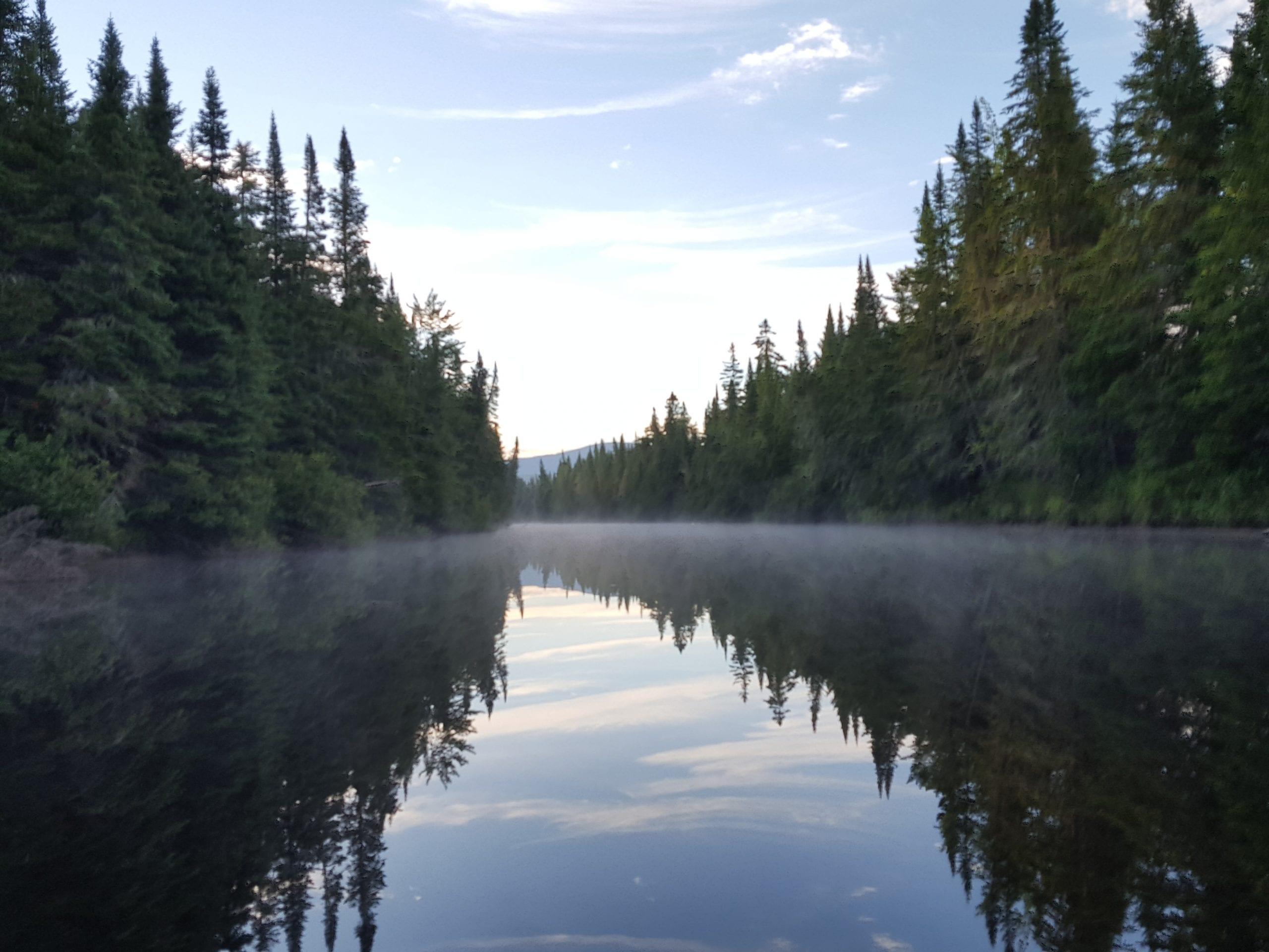 Moose River Bow Trip Jackman Maine.