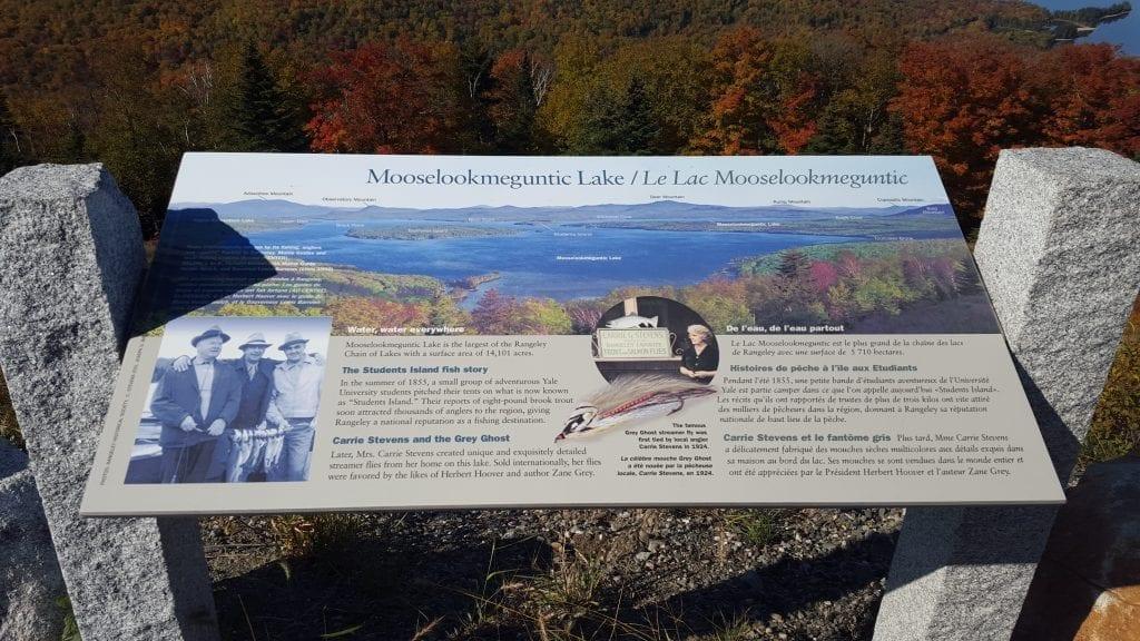 Mooselookmeguntic Lake.