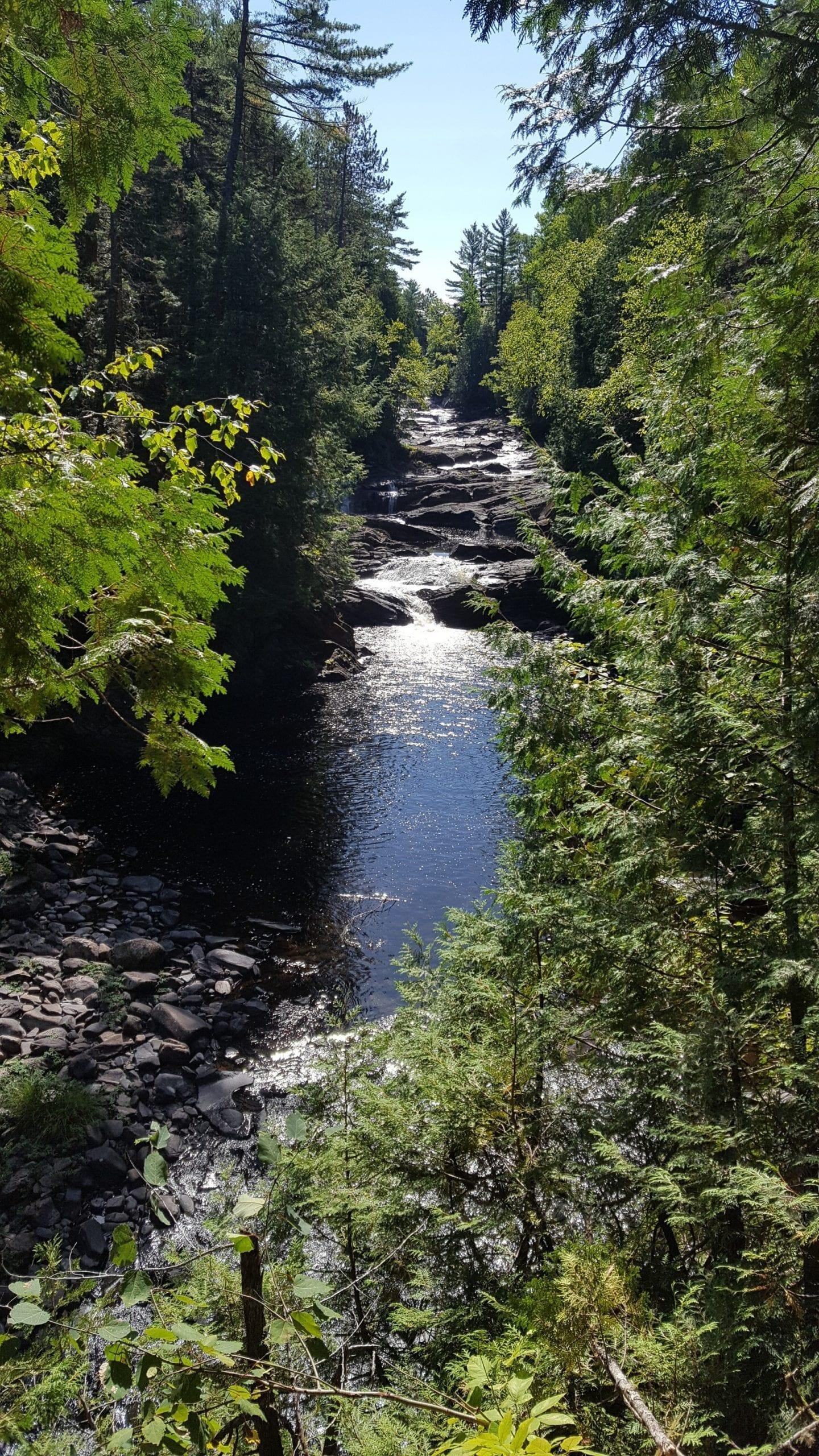 Moxie Falls Maine.