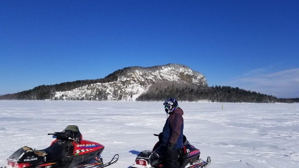 Mt. Kineo on Moosehead Lake
