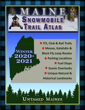 2020 2021 Maine Snowmobile Trail Map Atlas